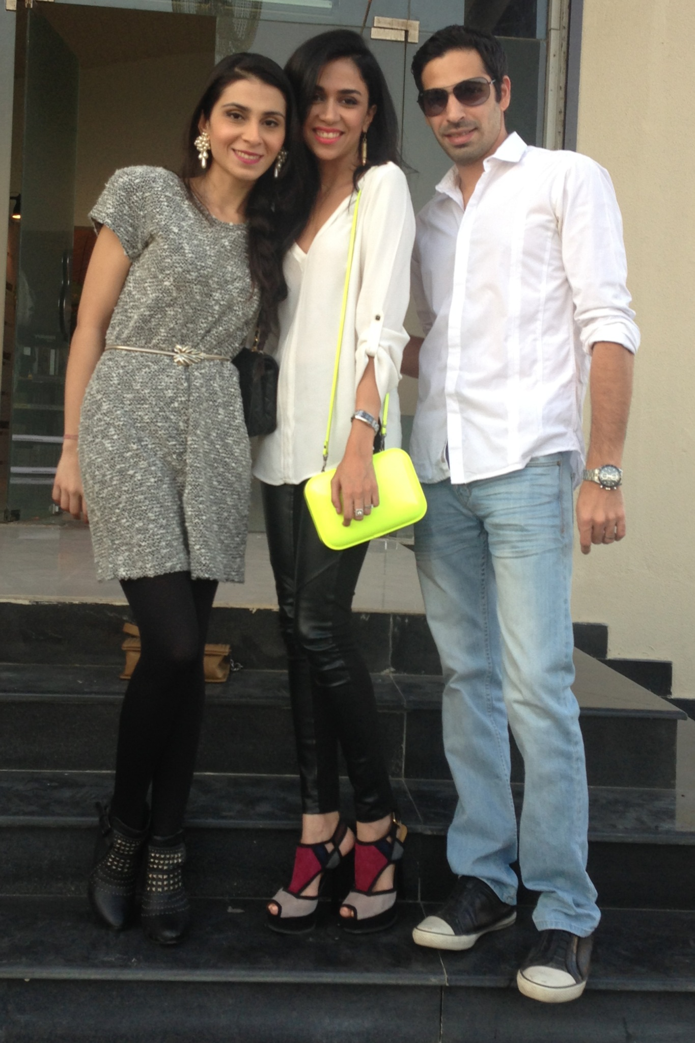 Feeha Jamshed, Maha Burney and Nadir Firoz Khan