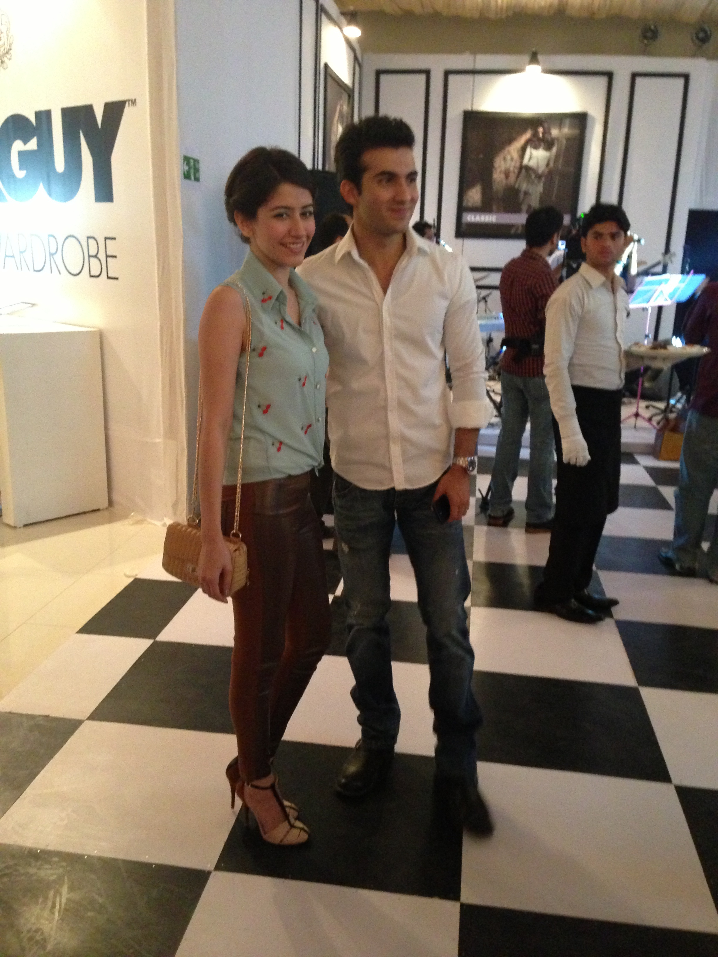 Syra and Shehroz Sabzwari