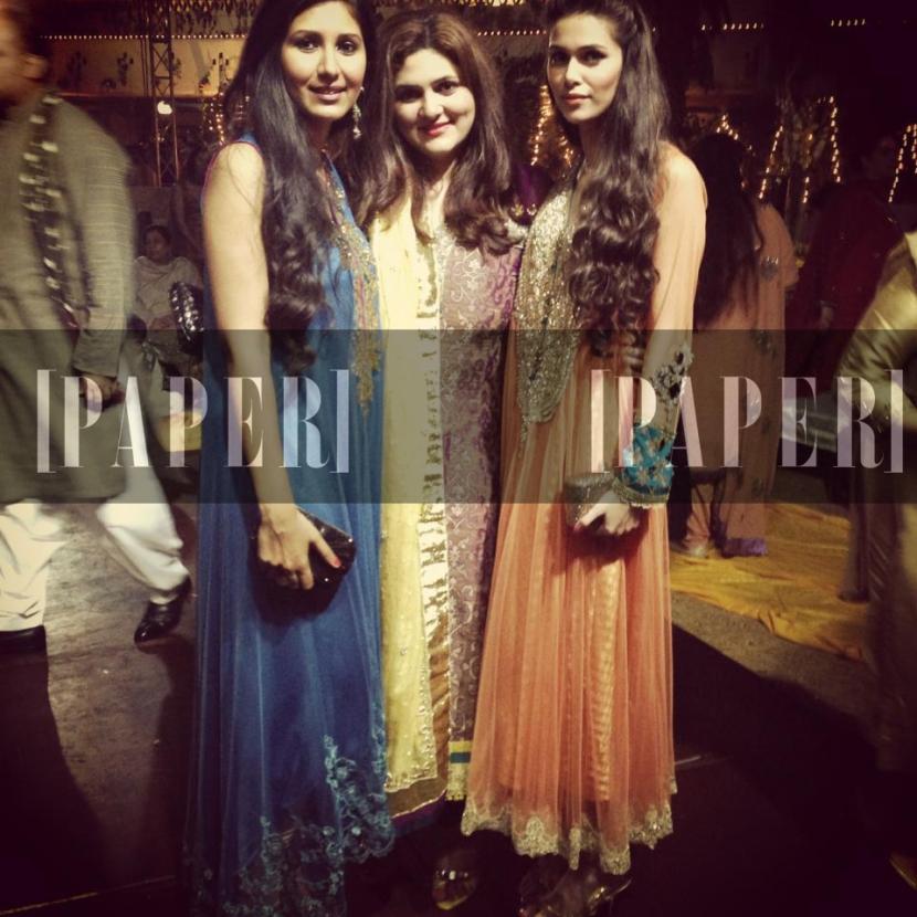 Zara Shahjahan, Tanya Afridi and Jania Ali Bhatti