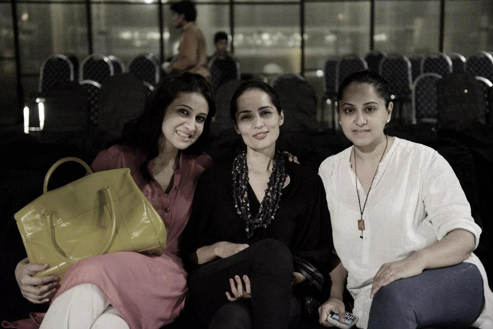 Sara Shahid, Fatima Hasan and Natasha Nabi