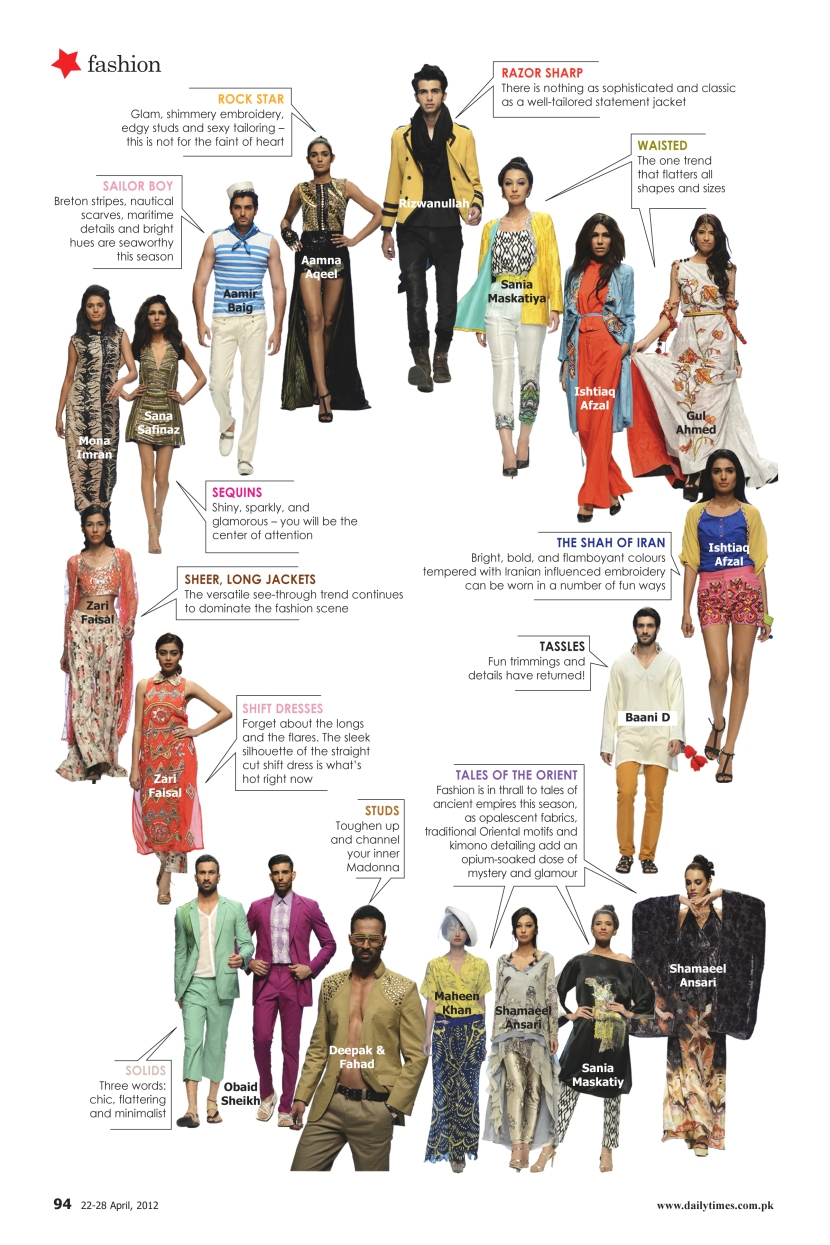 Sunday Times Style On Paper