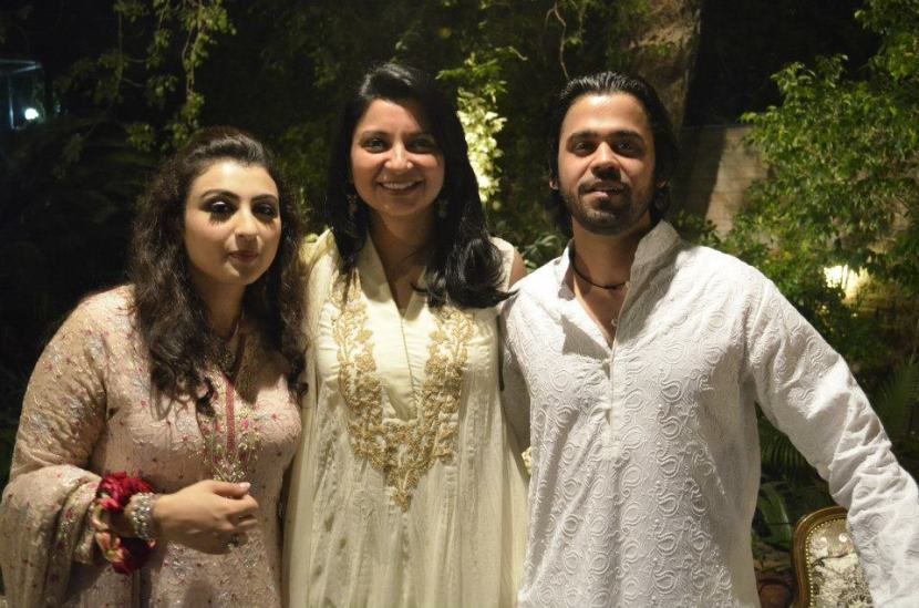 Fiza Aslam, Mina Bokharee and Raza Bokharee