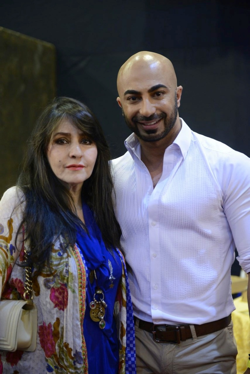 Faiza Samee and HSY