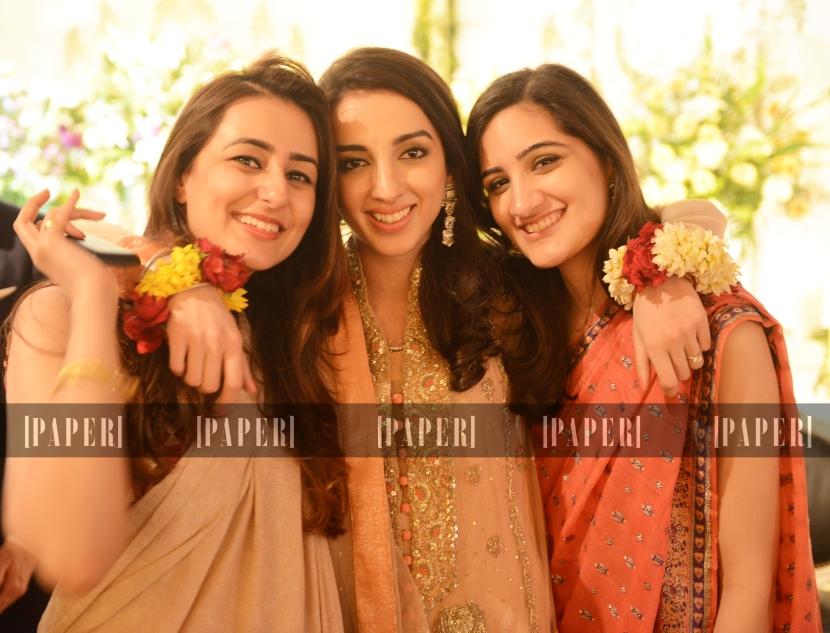 Maheen Ansar, Mariam Tareen and Fizzah Sajjad