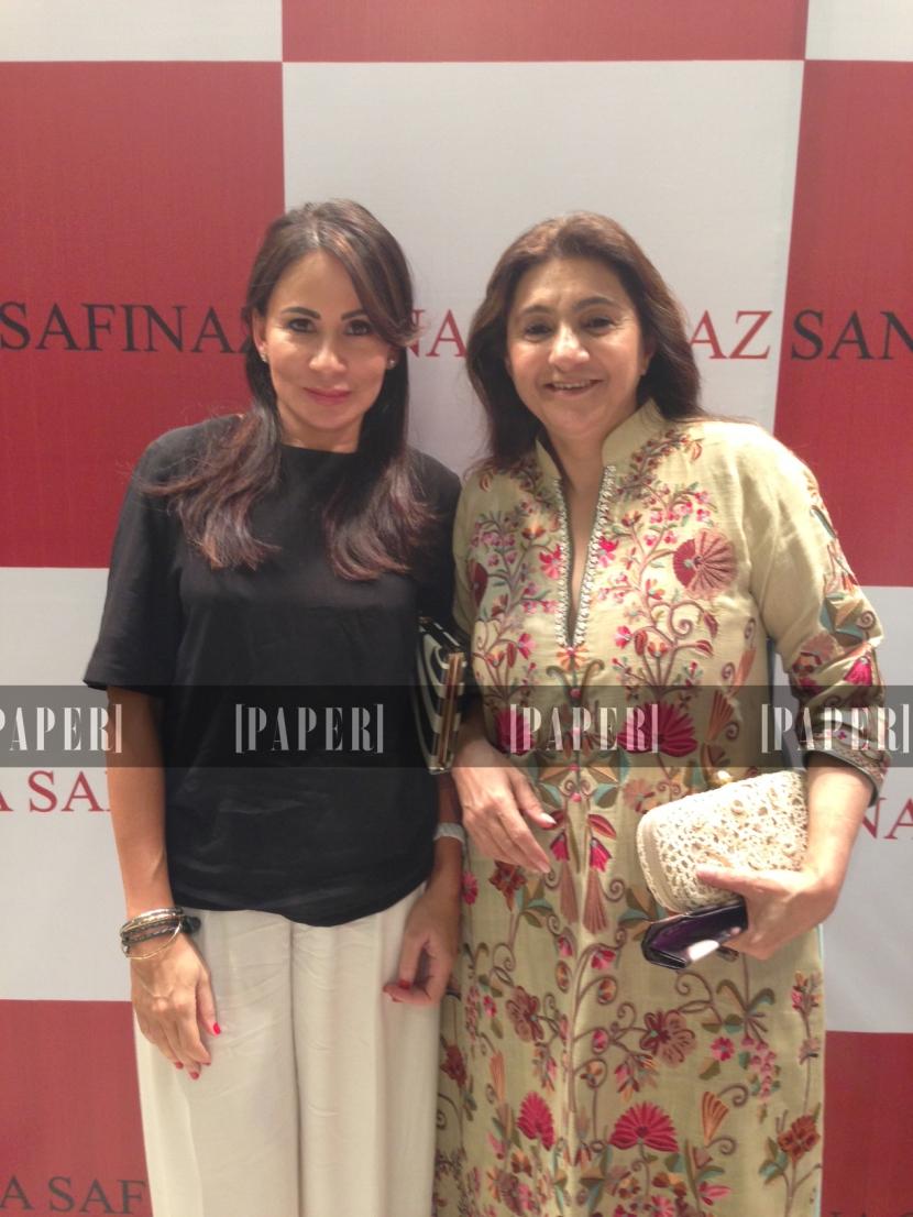 Fayeza with Ronak Lakhani