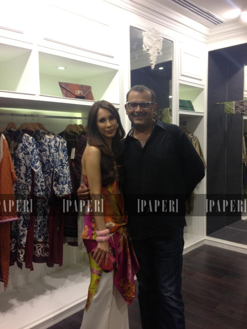 Sana Hashwani & Mohsin Sayeed