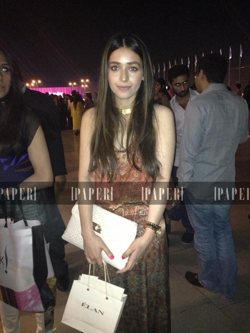 Sasha Salahuddin wears Misha Lakhani