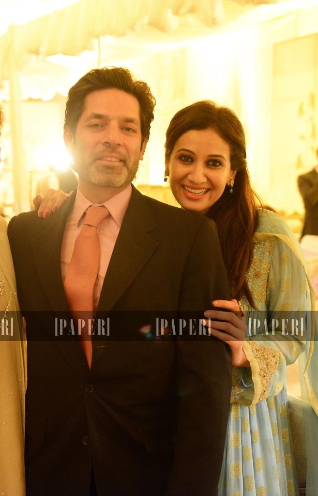 Shahid Akbar and Sara Shahid