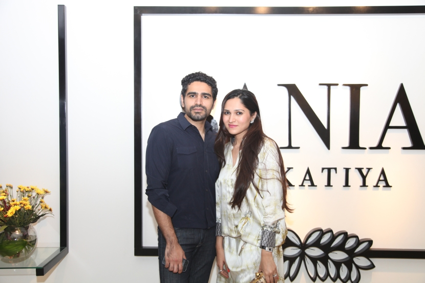 Umair Tabani and Sania Maskatiya