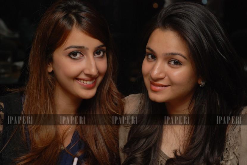 Risham Azhar and Naira Rahman