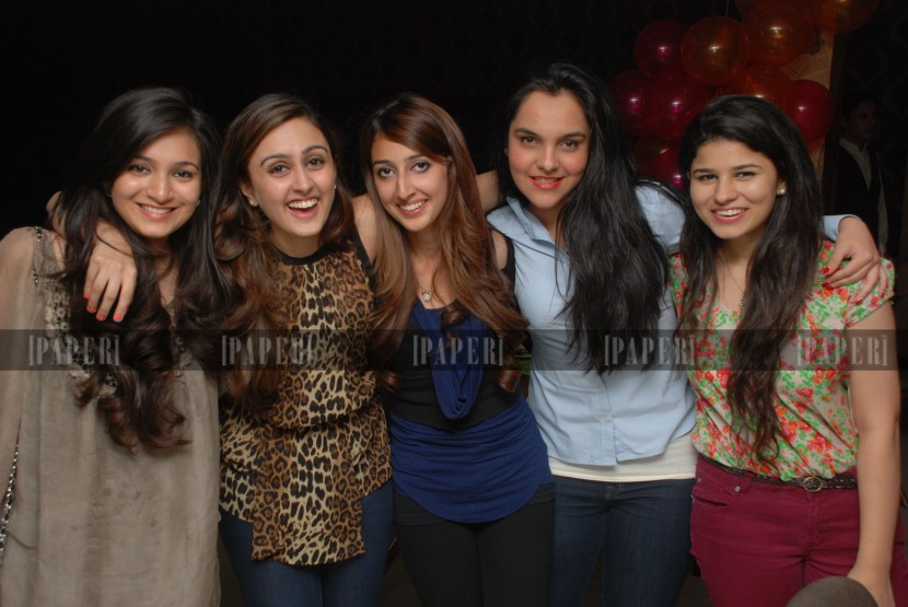 Naira Rahman, Muneeze Khalid, Risham Azhar, Momina Farooq Khan and Shanzay Salman