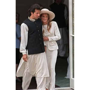 Imran Khan and Jemima