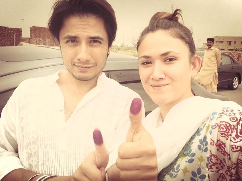 Ali Zafar and Ayesha Fazli