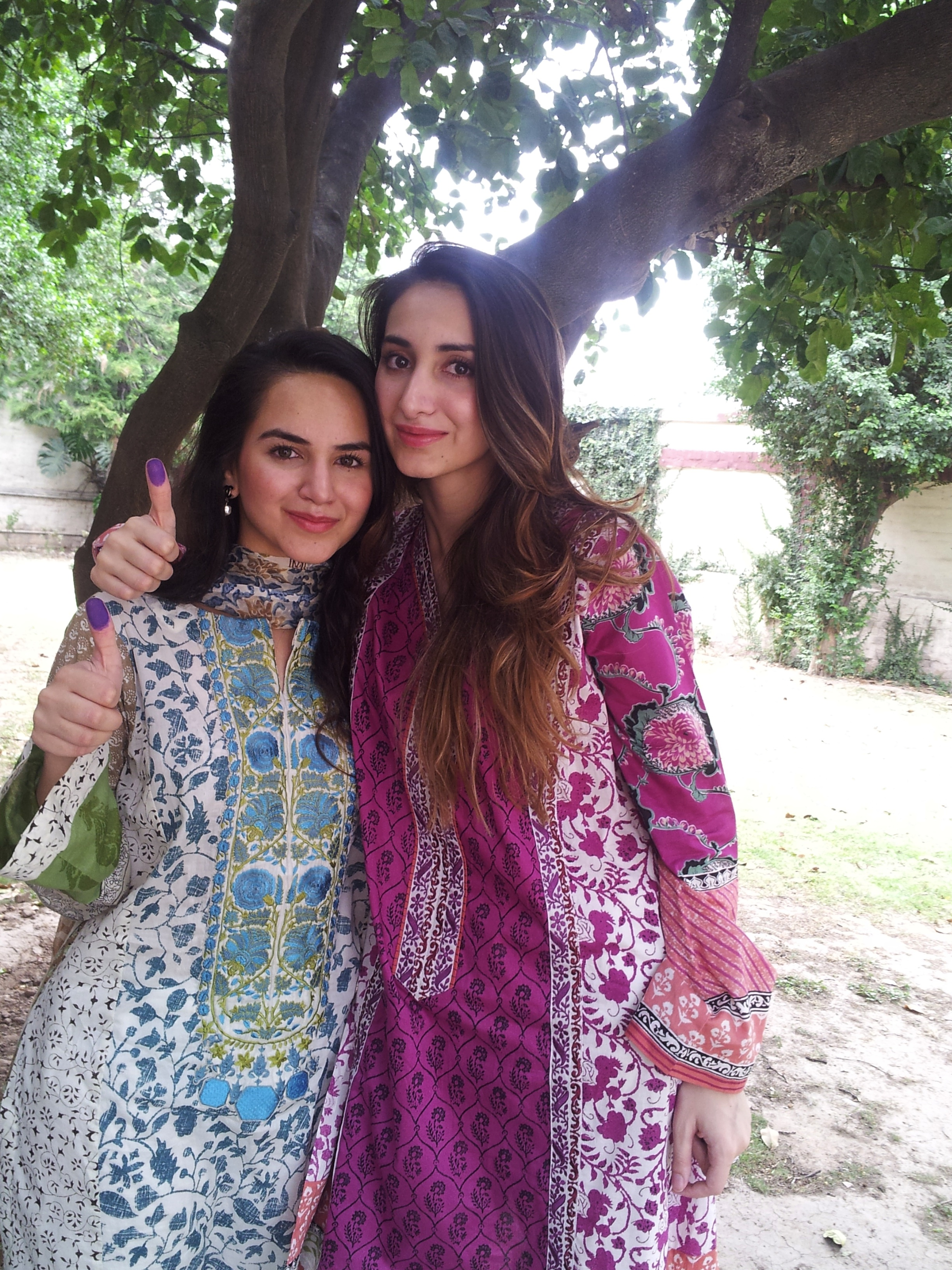 Anum and Ayesha Yousaf