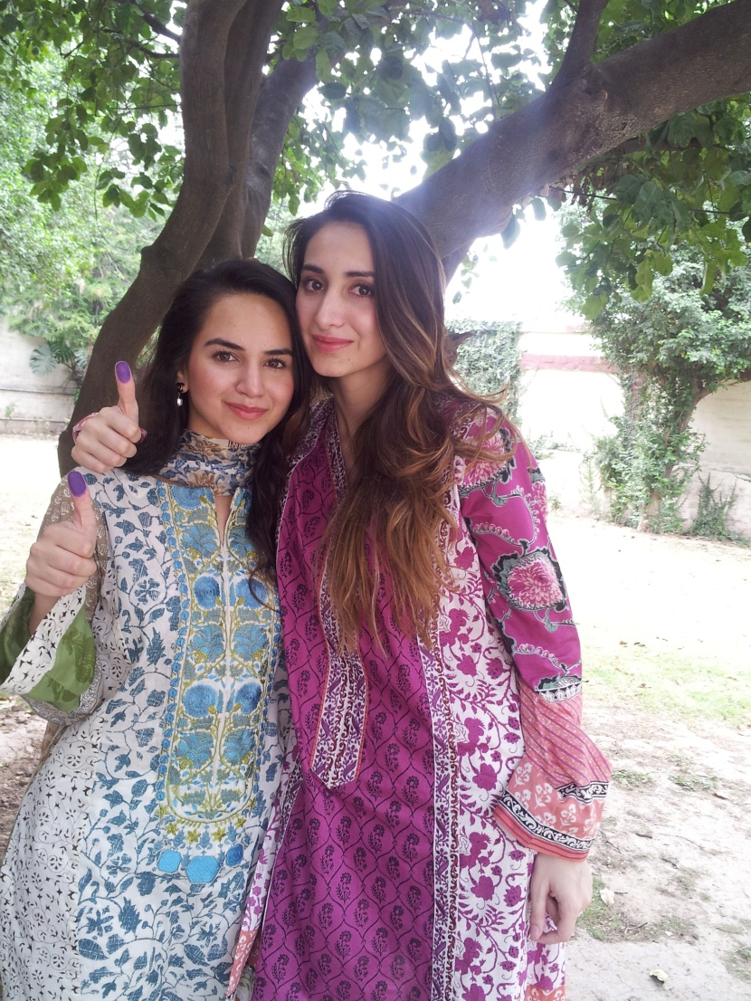 Anum and Ayesha Yousaf
