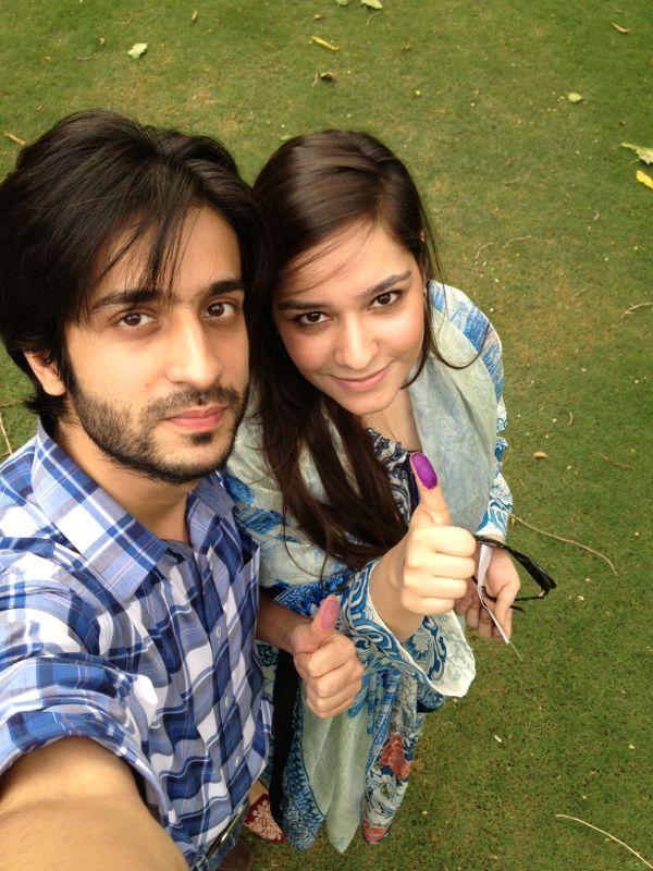 Abdullah and Amina Khan