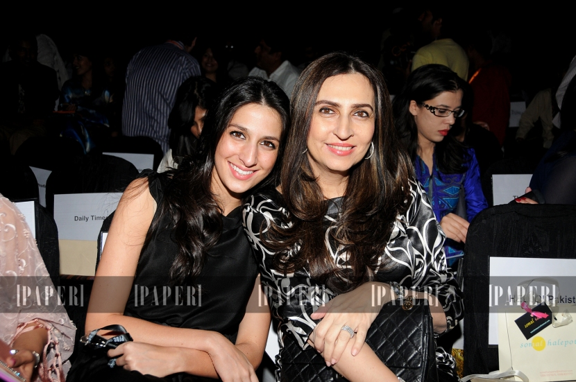 Shehrbano and Aamna Taseer