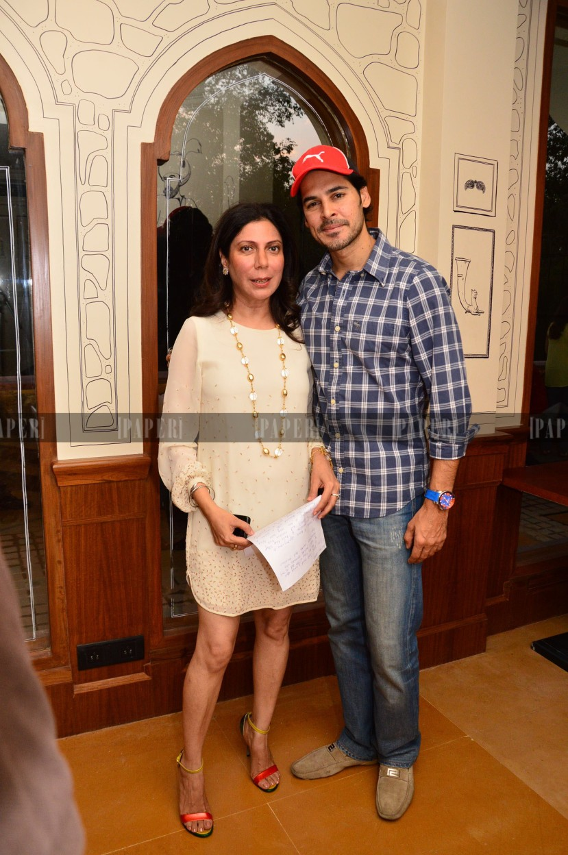 Harmeet Bajaj and Dino Morea