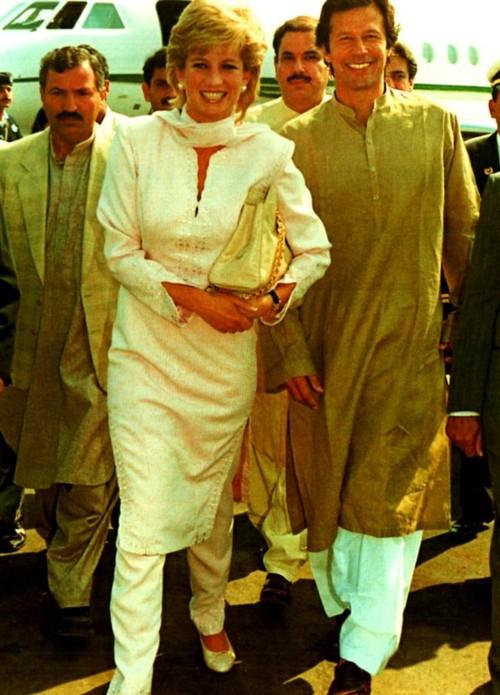Princess Diana comes to Pakistan