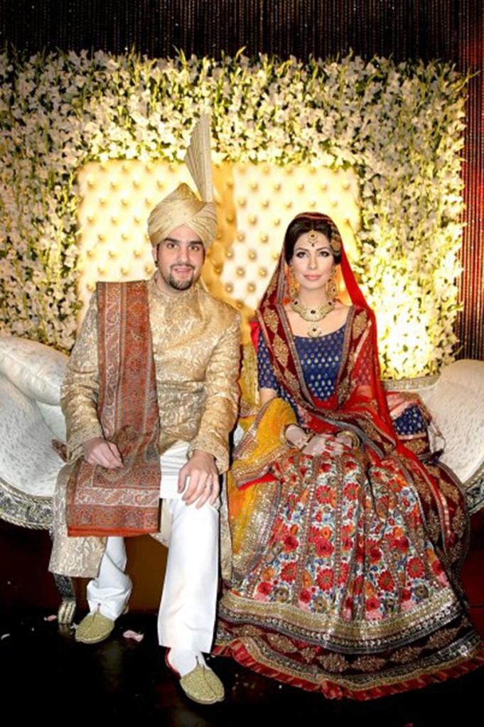 Maheen Ghani Taseer wears Sabyasachi Mukherjee