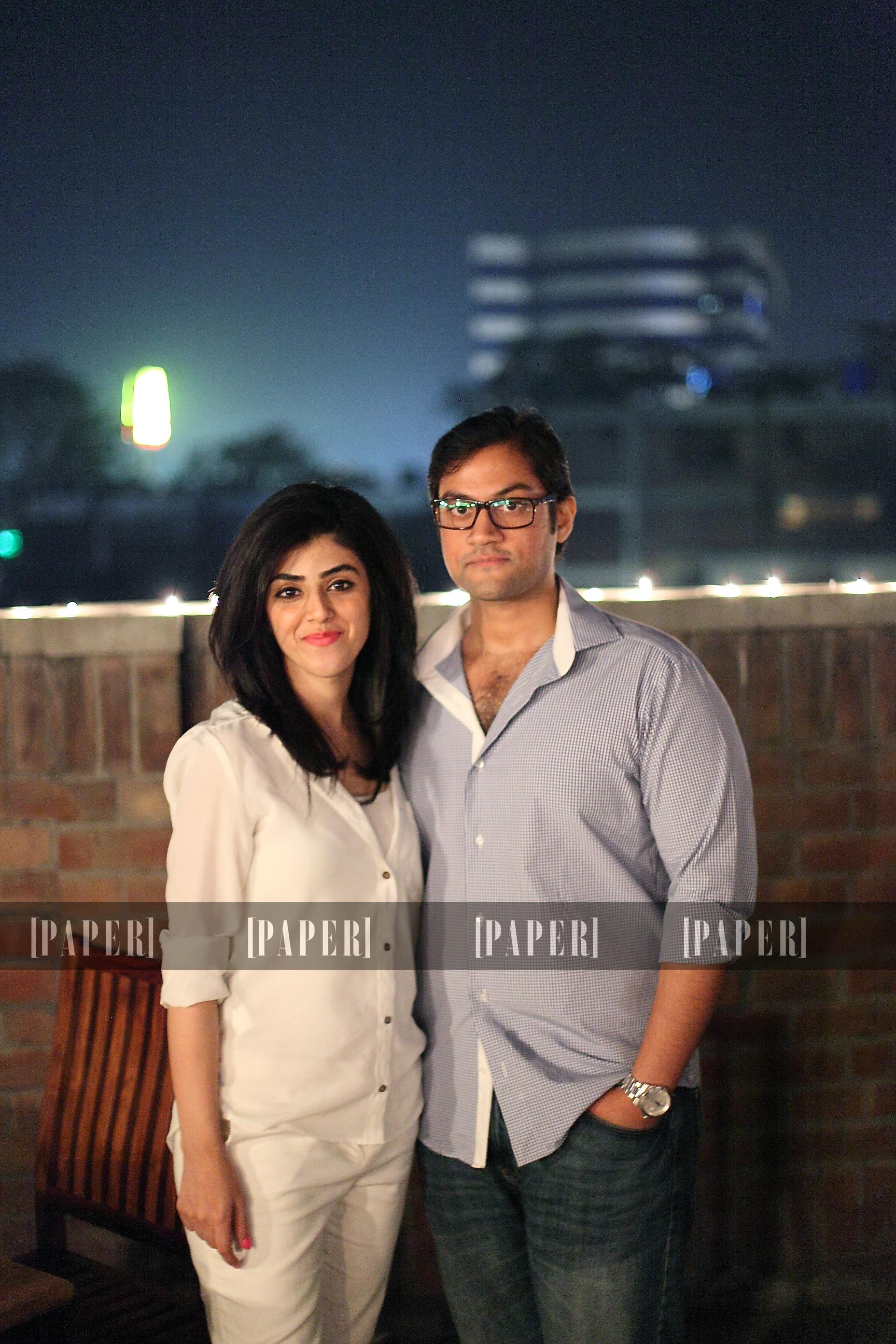 Marya Javed and Saif Ahmed