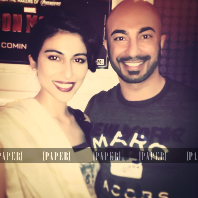 Meesha Shafi and HSY