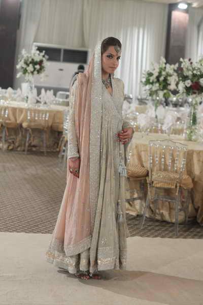 Mishal Peshimam wears Nida Azwer