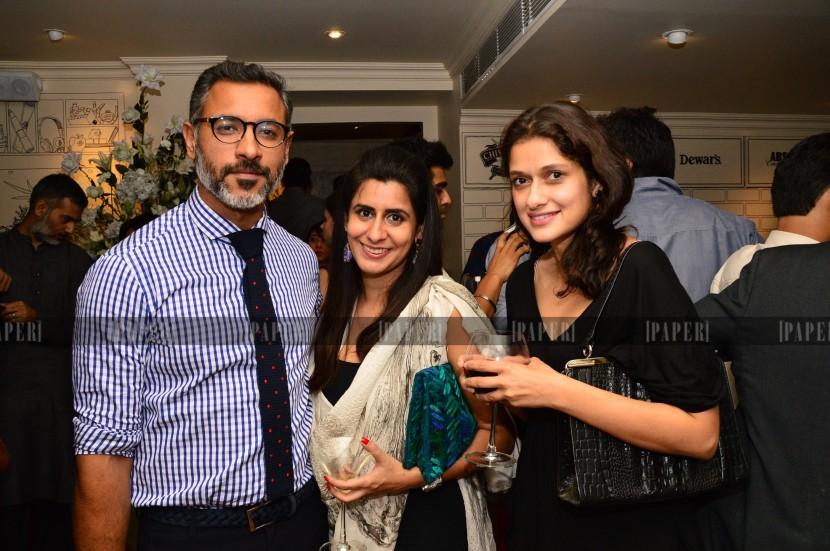 Nikhil and Vidushi Mehra with Sujata