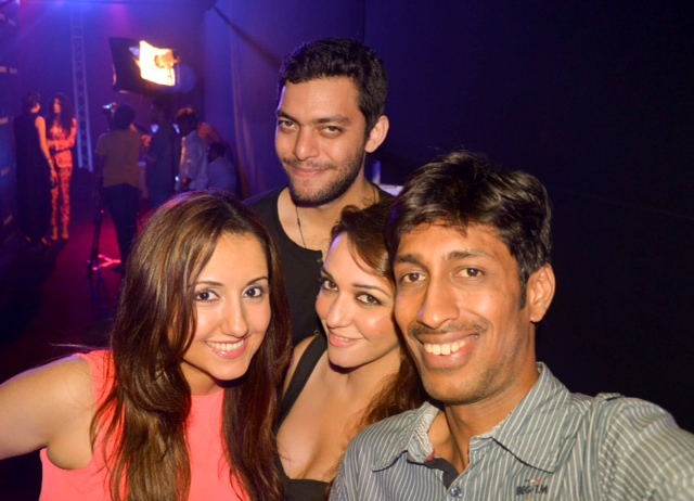 Nauheed Cyrusi, Bf Varun Bajaj, Myself and Poonam Brar