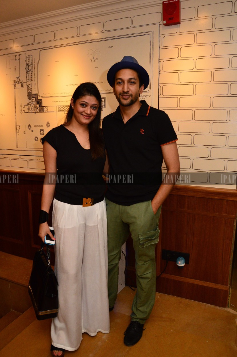 Pallavi and Siddharth Mohan
