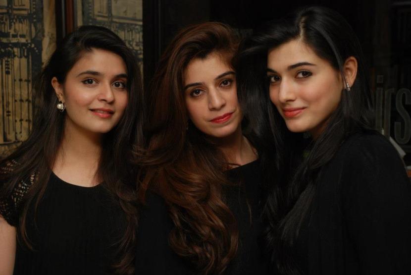 Rida Javed, Mehak Elahi and Alizeh Rabbani Khan