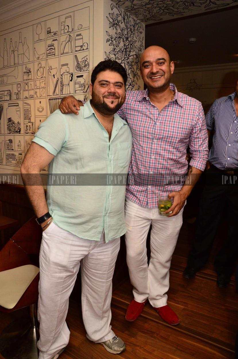 Riyaaz Amlani and Shiv Karan Singh