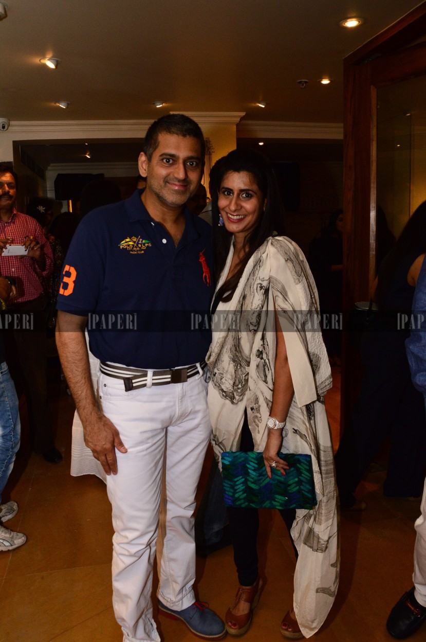 Sanjay Kapoor and Sujata Assomull Sippy
