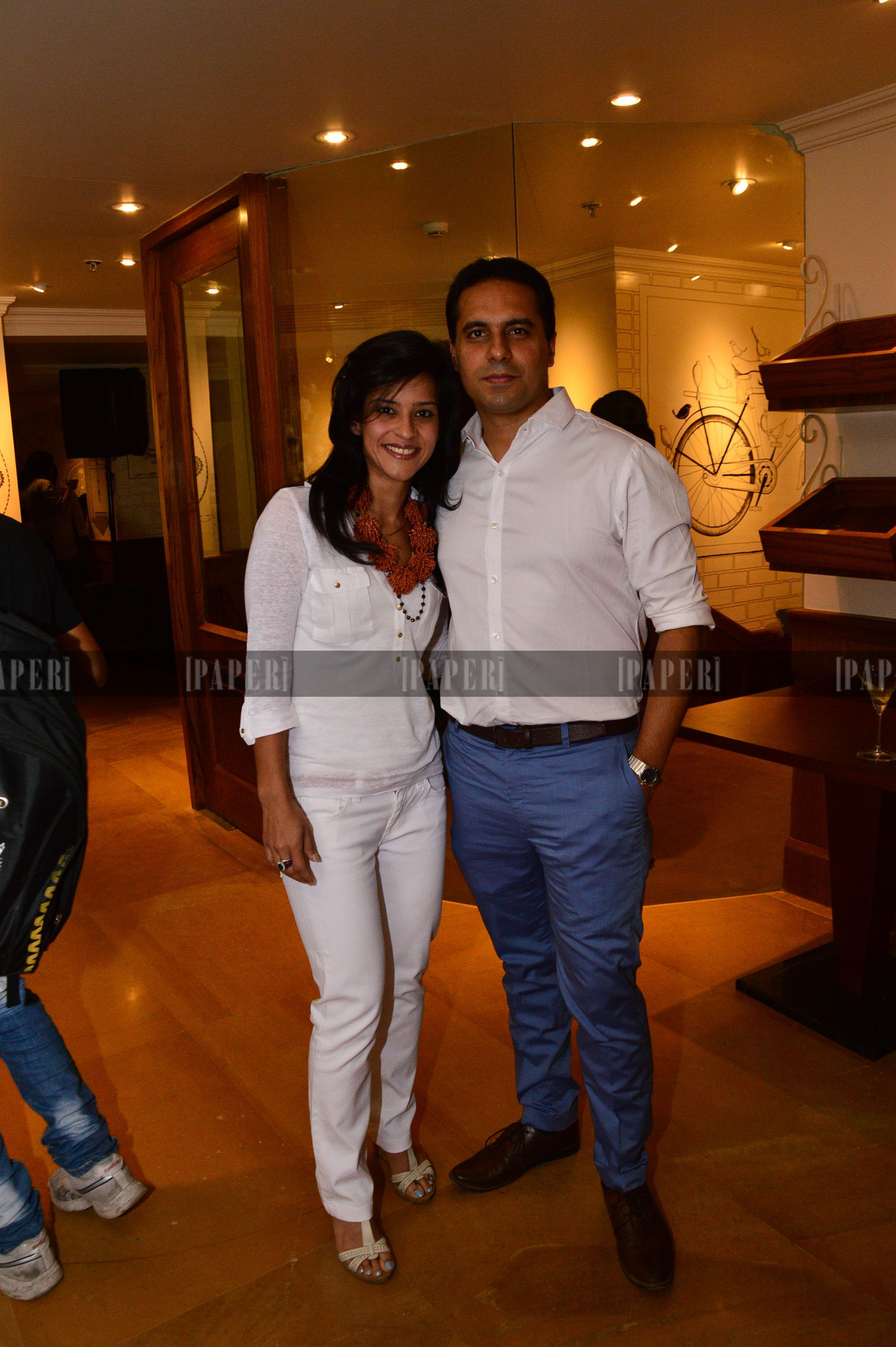 Shantanu and Reema Mehra