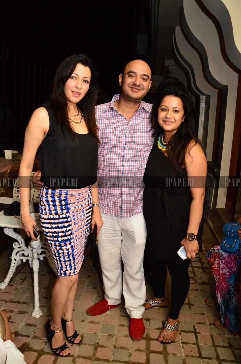 Shiv Karan and Reema Singh with Aditi Gowitrikar