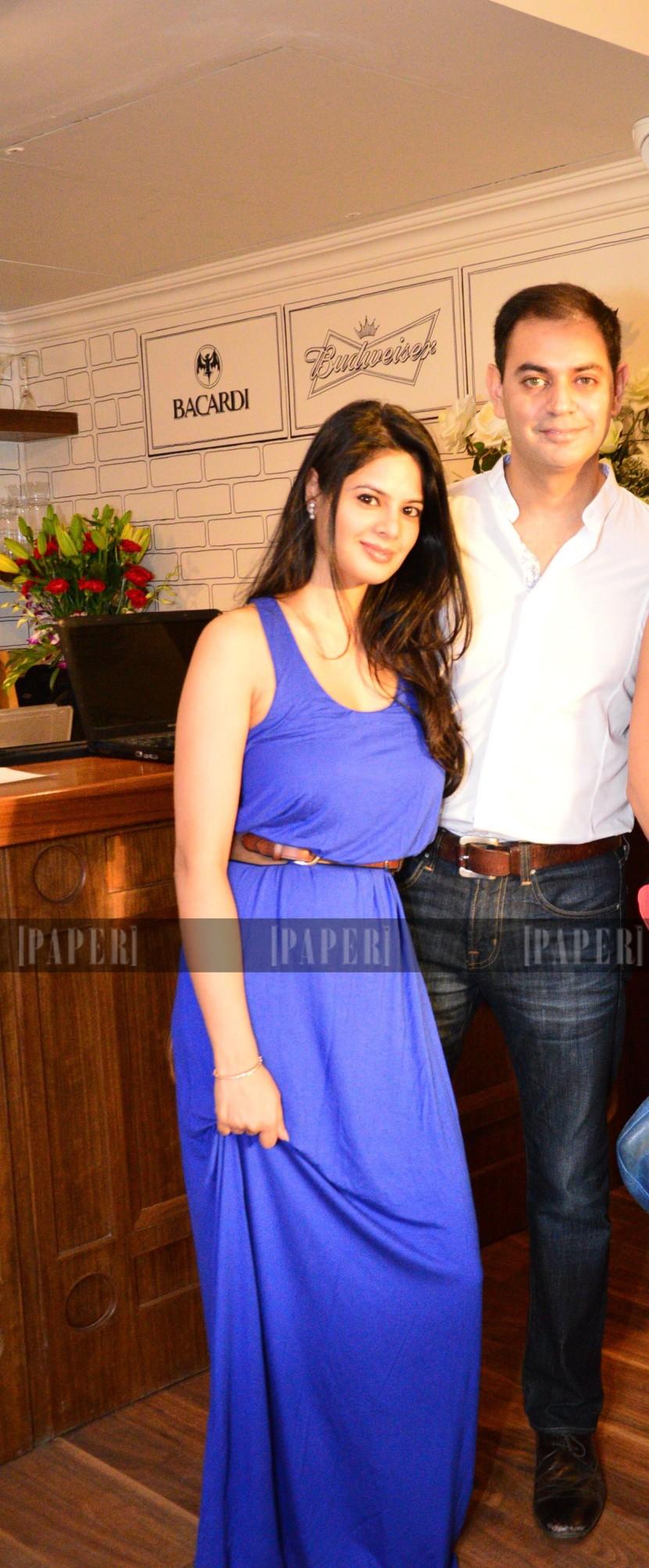 Sid and Batasha Mathur