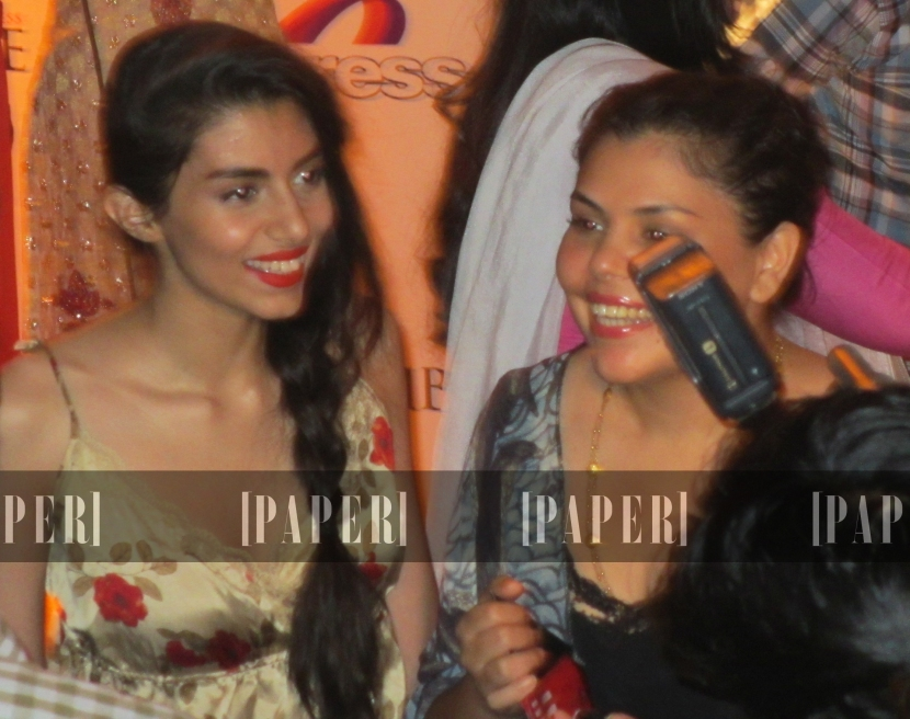Lovely sisters Zara and Mashal Peerzada
