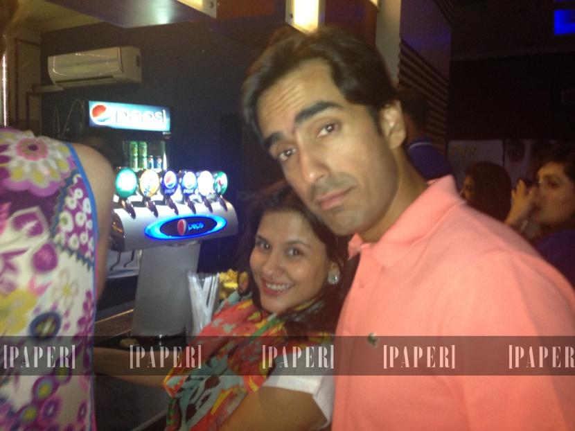 Sanam Taseer and Omer Salamat
