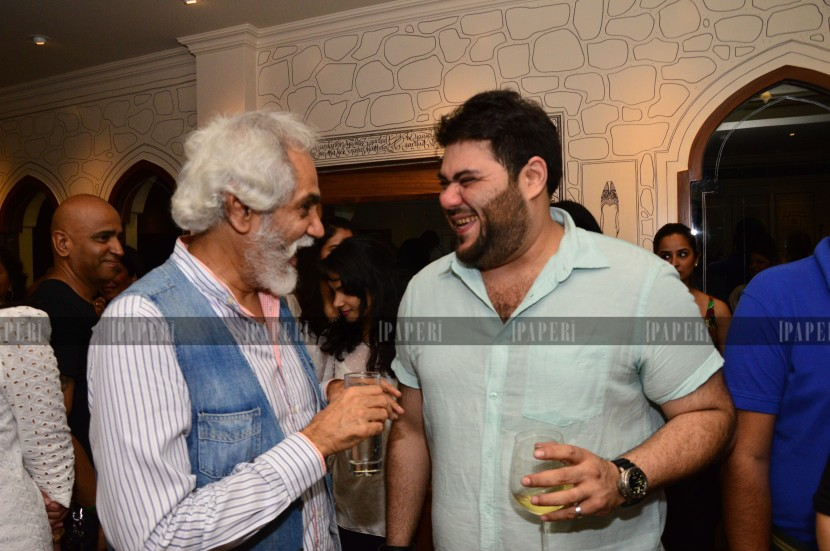 Sunil Sethi and Riyaaz Amlani