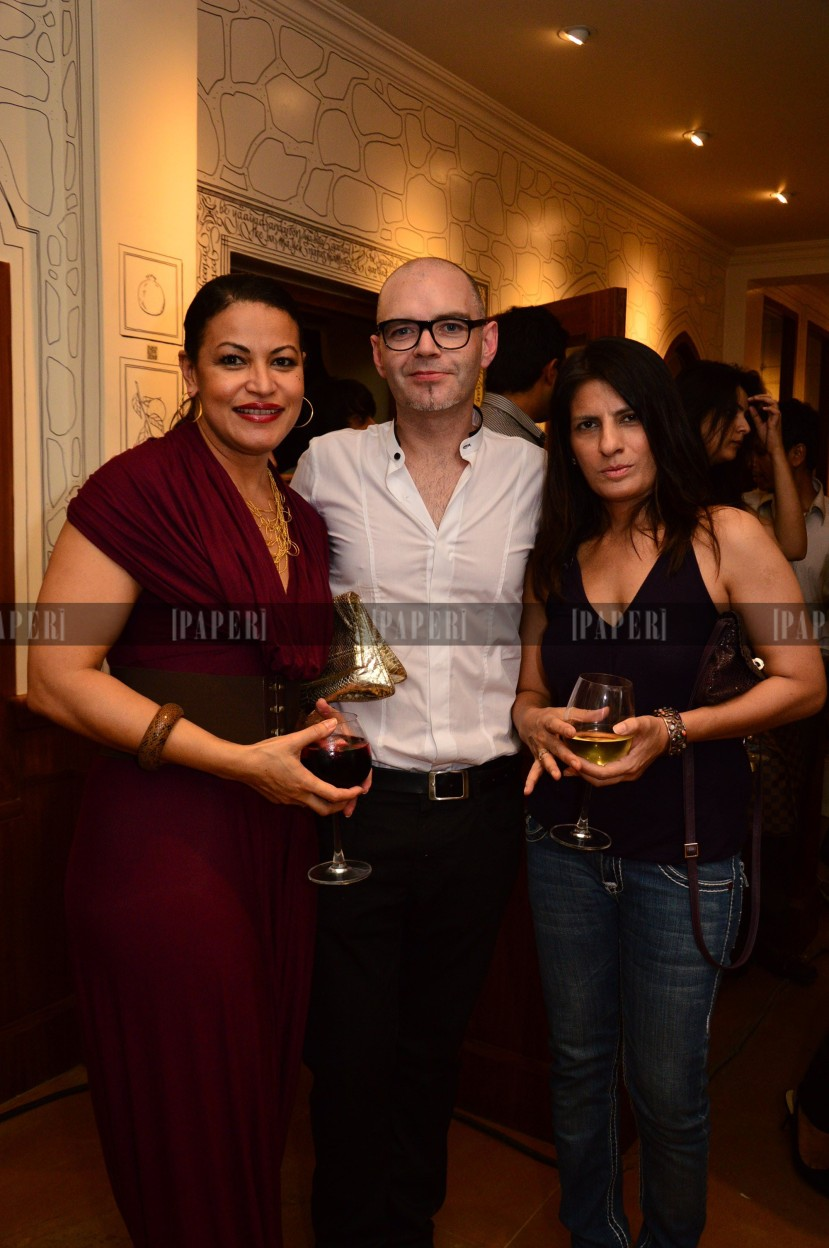 Thenny Mejia, Rod Anker and Gauri Vohra
