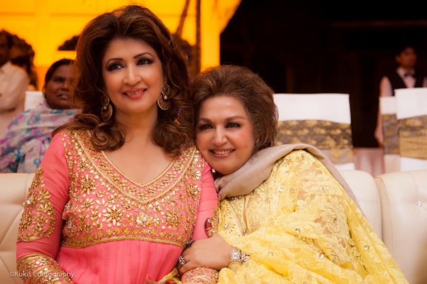 zilla Huma and Mina Hasan